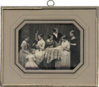 Daguerreotypes: Berlin Biedermeier scene