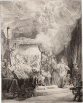 Rembrandt Harmensz. van Rijn: Der Tod Mariens