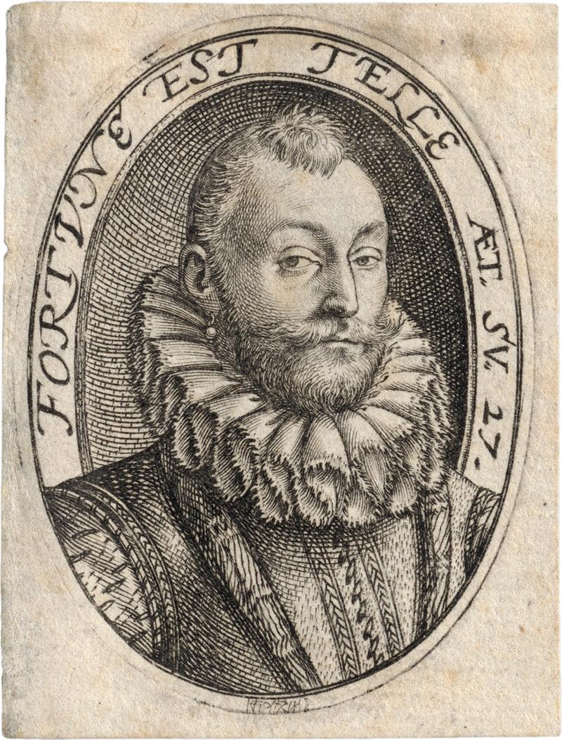 Goltzius, Hendrick: Bildnis des Gerrit Dircksz. (oder Claes Steffensz.) van ...