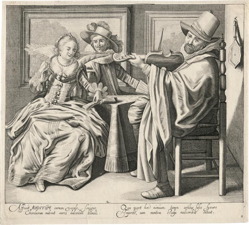Kittensteyn, Cornelis van: Auditum (Das Gehör)