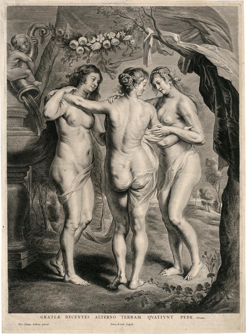 Jode II, Pieter de: Die drei Grazien