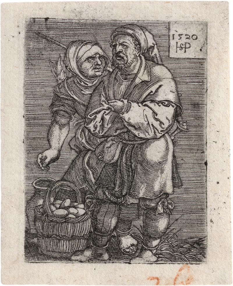 Beham, Hans Sebald: Die Eierverkäufer