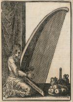 Lorch, Melchior: Harfe-Spielerin