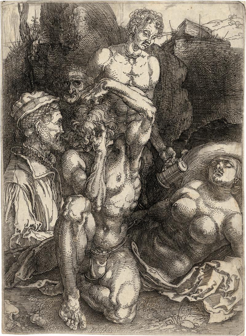 Dürer, Albrecht: Der sogenannte Verzweifelnde