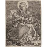 Binck, Jakob: Die Jungfrau mit dem Wickelkind