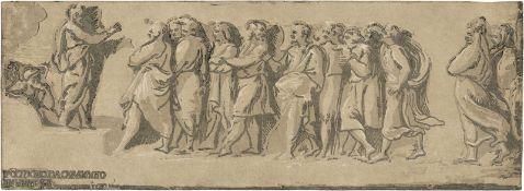 Carpi, Ugo da: Der Hl. Petrus predigend