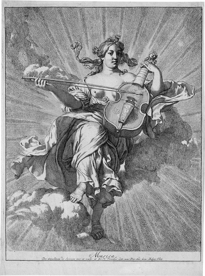 Lairesse, Gerard de: Die Personifizierung der Musik