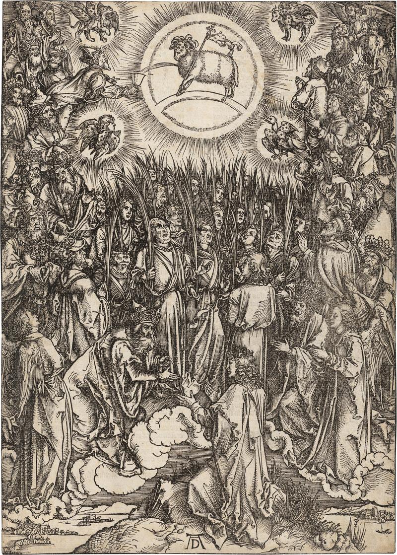 Dürer, Albrecht: Lobgesang der Auserwählten im Himmel