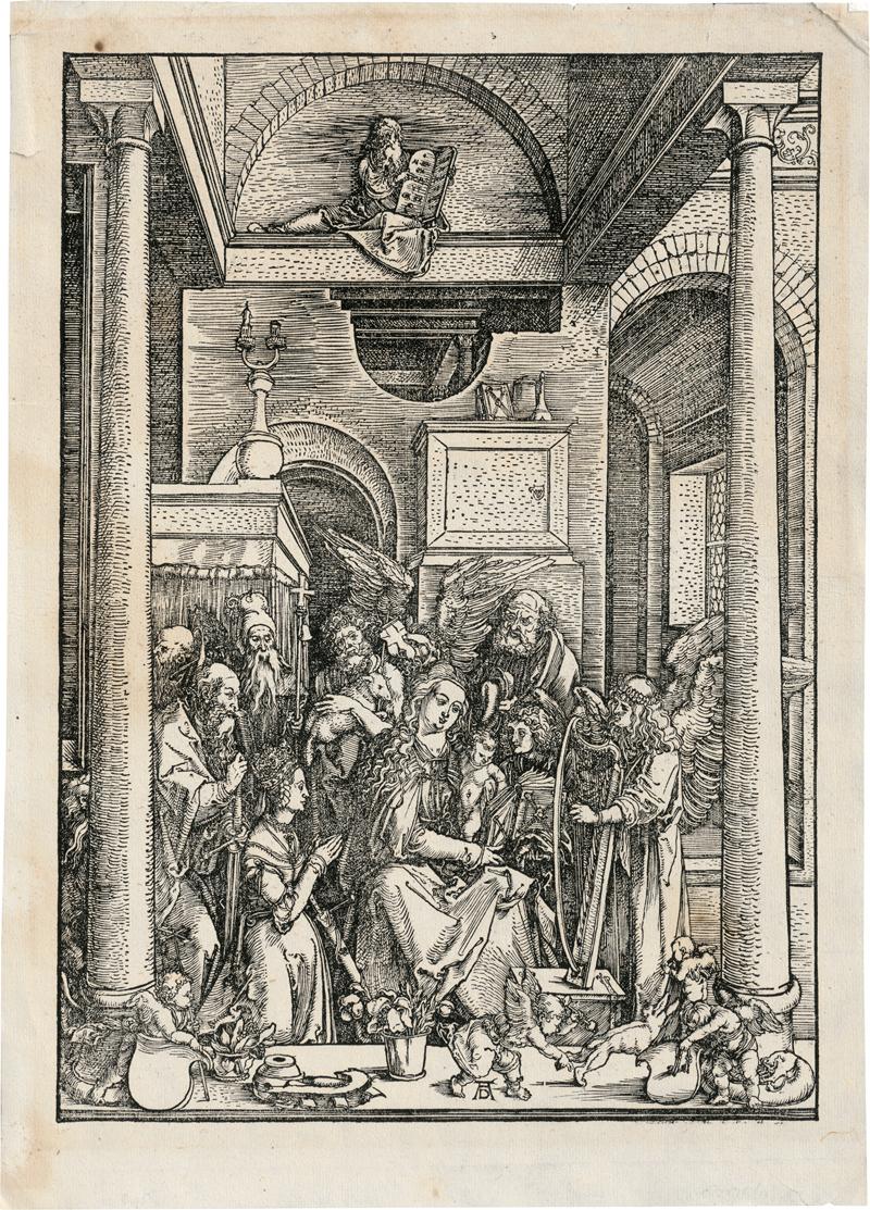 Dürer, Albrecht: Mariens Verehrung