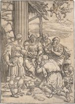 Andreani, Andrea: Die Anbetung der Könige
