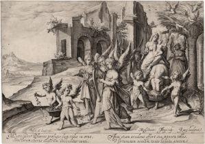 Gheyn II, Jacques de: Die Rückkehr von der Flucht nach Ägypten