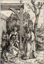 Dürer, Albrecht: Christi Abschied von seiner Mutter