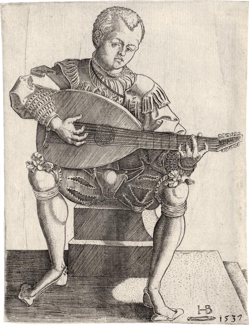 Brosamer, Hans: Der Lautenspieler
