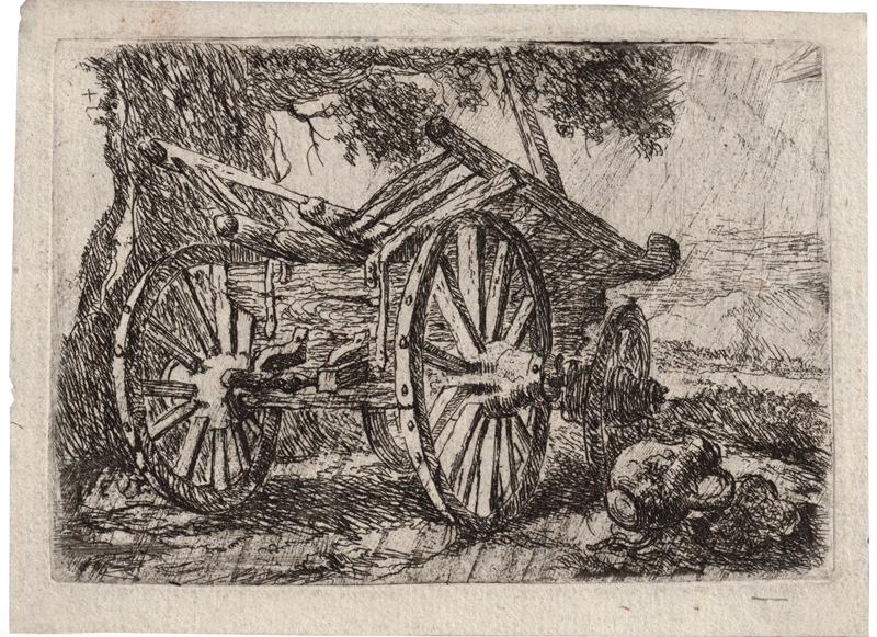 Fyt, Jan: Der Bauernwagen