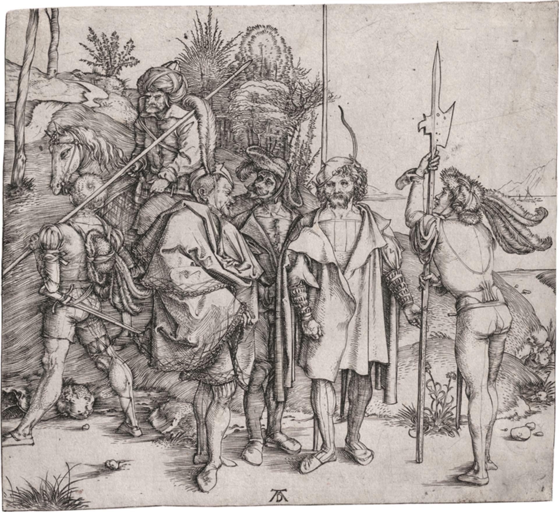 Dürer, Albrecht: Die sechs Kriegsleute