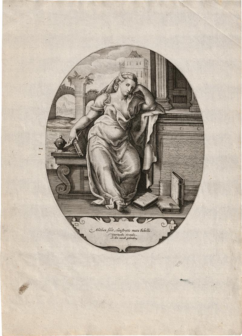 Breen, Gilles van: Die Personifizierungn der Waghrheit, Gerechtigkeit und N...