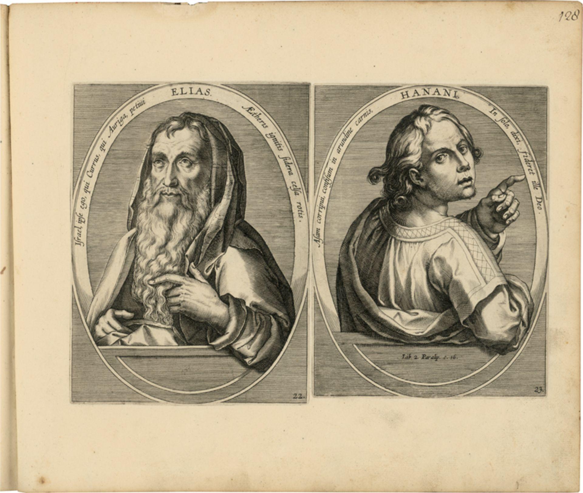 Galle, Joannes: Sammleralbum des 18. Jh. mit insgesamt 238 Kupferstichen... - Image 4 of 5