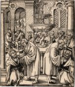 Cranach d. Ä., Lucas: Die Austeilung des Abendmahls