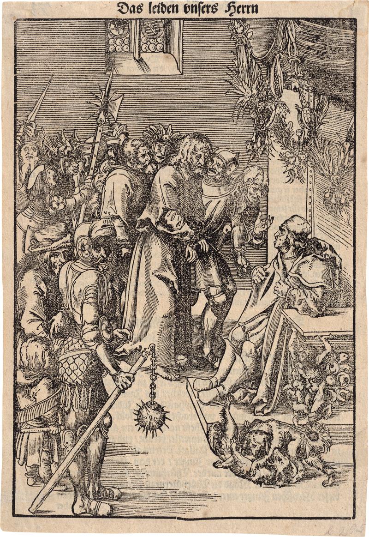 Cranach d. Ä., Lucas: Chridtus vor Kaiphas