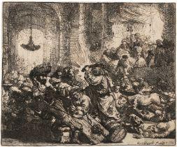 Rembrandt Harmensz. van Rijn: Die Vertreibung aus dem Tempel