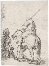 Rembrandt Harmensz. van Rijn: Der Reiter