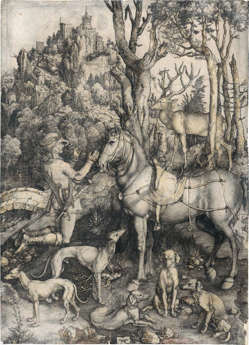 Dürer, Albrecht: Der hl. Hubertus