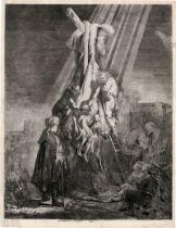 Rembrandt Harmensz. van Rijn: Die große Kreuzabnahme