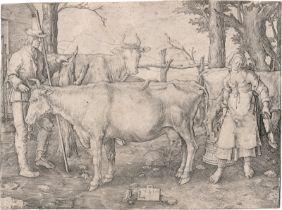 Leyden, Lucas van: Das Milchmädchen