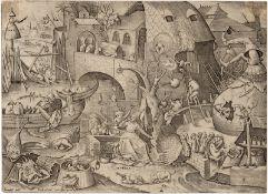 Bruegel d. Ä., Pieter: Invidia