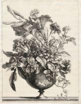 Monnoyer, Jean-Baptiste: Blumenbouquet mit Lilien in einer Vase