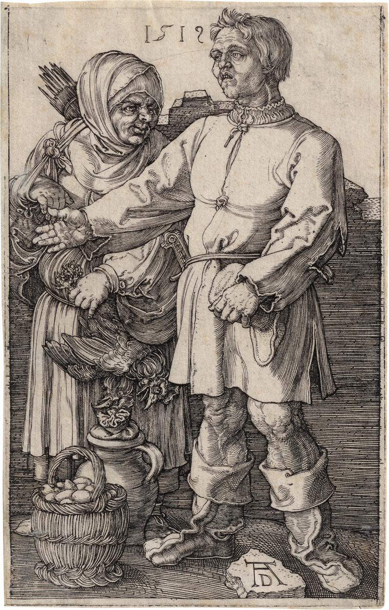 Dürer, Albrecht: Der Marktbauer und sein Weib