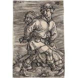 Beham, Barthel: Das tanzende Bauernpaar