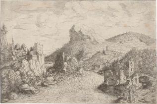 Lautensack, Hanns: Tobias mit dem Engel an einem Fluss