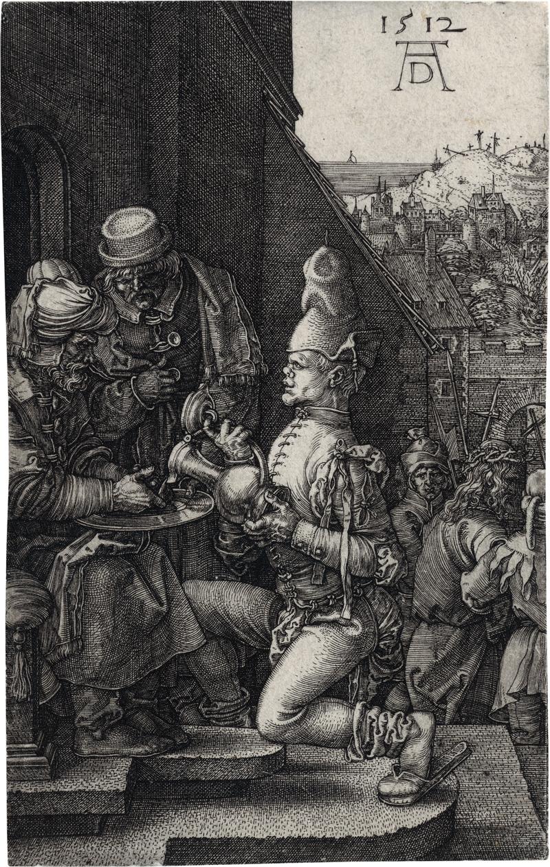 Dürer, Albrecht: Pilatus wäscht sich die Hände