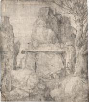 Dürer, Albrecht: Der hl. Hieronymus neben dem Weidenbaum