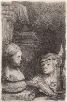 Rembrandt Harmensz. van Rijn: Der Zeichner