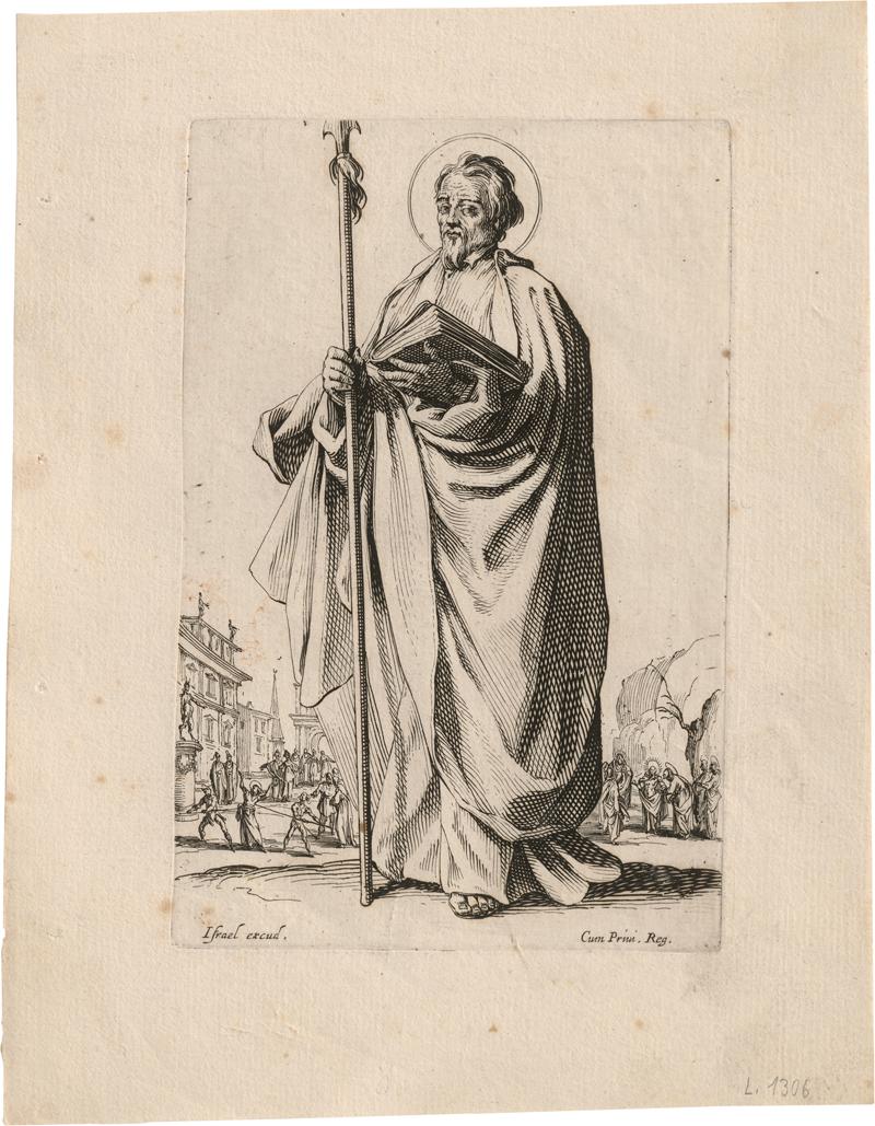 Callot, Jacques: Les grands Apôtres Debout (Die Große Apostelfolge)