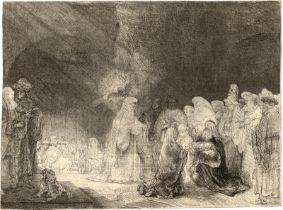 Rembrandt Harmensz. van Rijn: Die Darstellung im Tempel