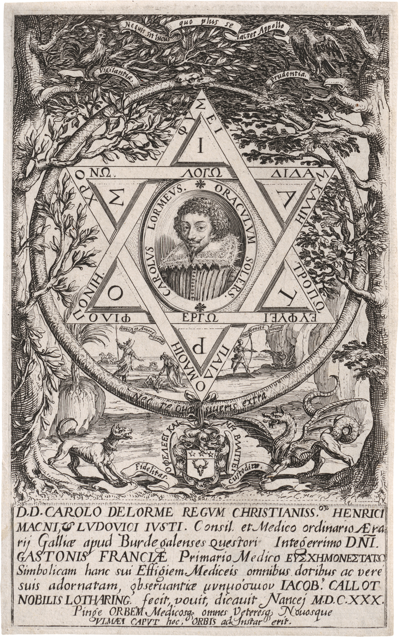 Callot, Jacques: Portrait de Charles Delorme