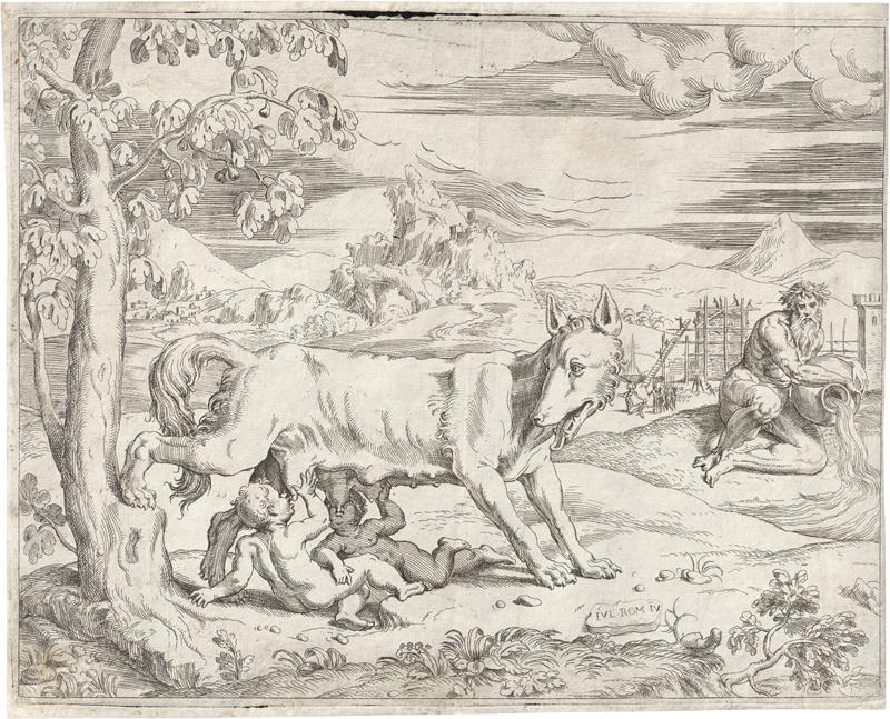 d'Angolo, Giovanni Battista: Romulus und Remus