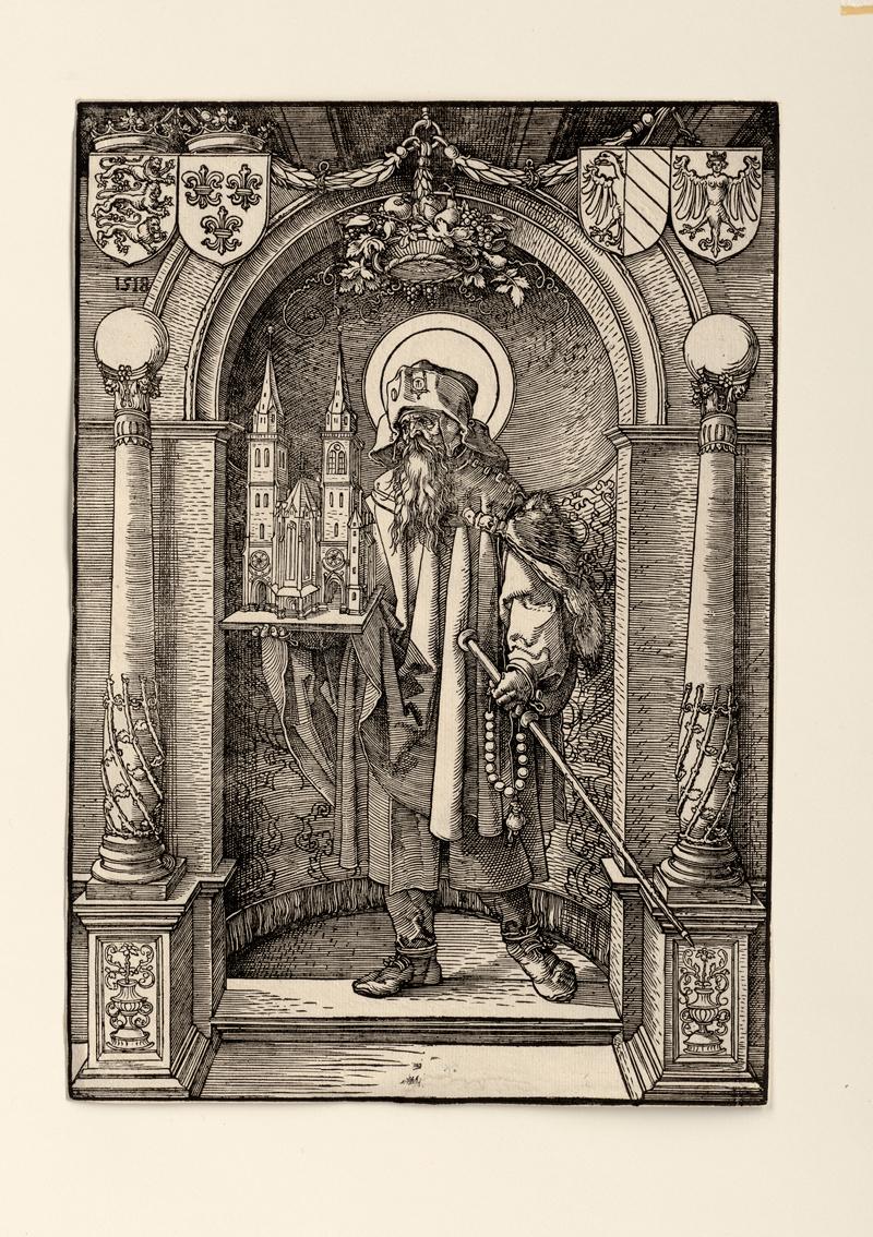 Dürer, Albrecht: Der hl. Sebaldus in der Nische
