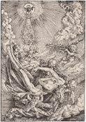 Baldung, Hans: Der Leichnam Christi von Engeln zum Himmel getragen