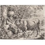 Ermels, Georg Paul: Die Hirtemnfamilie; Der Stier