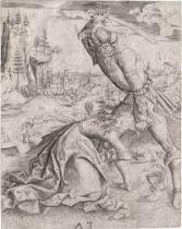 Meister MZ: Das Martyrium der hl. Barbara