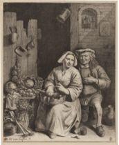 Haeften, Nicolas Walraven van: Küchenstück: Liebeserklärung in der Küche