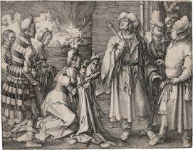 Leyden, Lucas van: Potiphars Frau klagt Joseph an