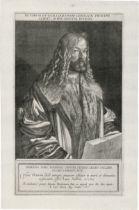 Kilian, Lucas: Bildnis Albrecht Dürers in halber Figur