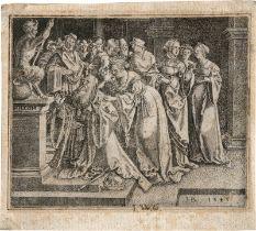 Brosamer, Hans: Salomons Götzendienst