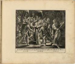 Galle, Joannes: Sammleralbum des 18. Jh. mit insgesamt 238 Kupferstichen...