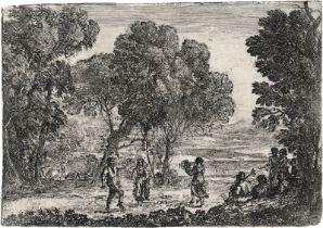 Lorrain, Claude: La Danse sous les arbres